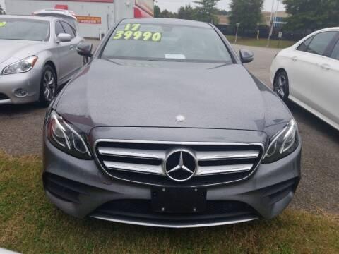 2017 Mercedes-Benz E-Class for sale at AUTOPLEX 528 LLC in Huntsville AL