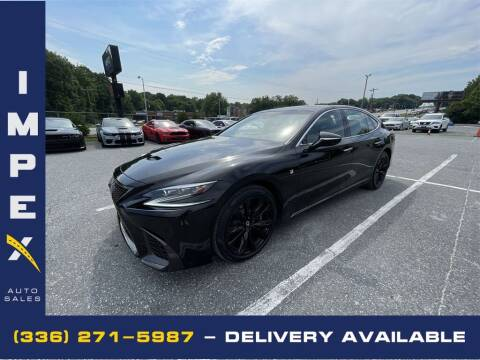 2018 Lexus LS 500 for sale at Impex Auto Sales in Greensboro NC