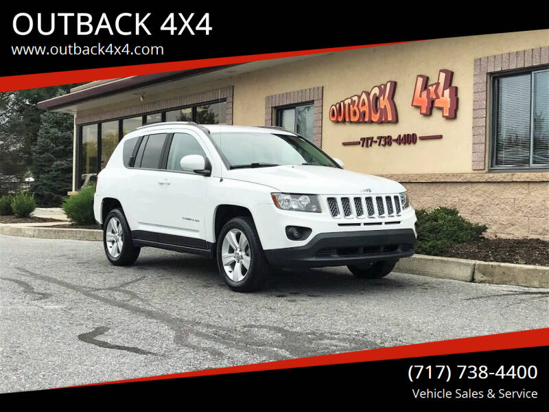 2016 Jeep Compass for sale at OUTBACK 4X4 in Ephrata PA