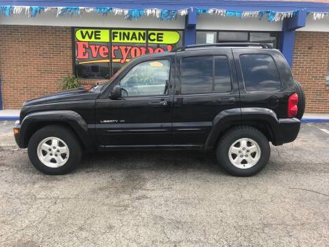 2002 Jeep Liberty for sale at Duke Automotive Group in Cincinnati OH