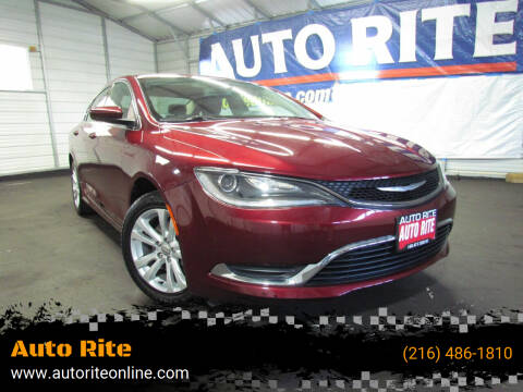 2015 Chrysler 200 for sale at Auto Rite in Cleveland OH