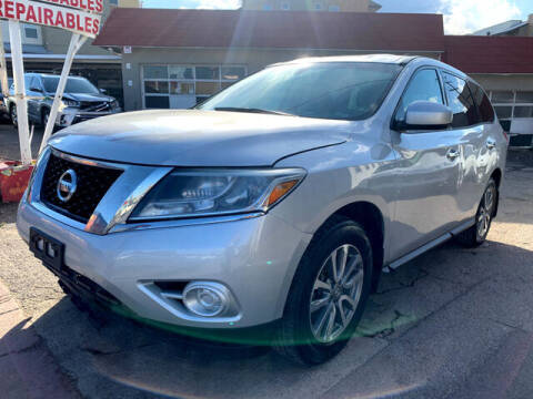 2014 Nissan Pathfinder for sale at ELITE MOTOR CARS OF MIAMI in Miami FL