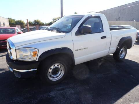 2007 Dodge Ram Pickup 1500 for sale at A-Auto Luxury Motorsports in Milwaukee WI