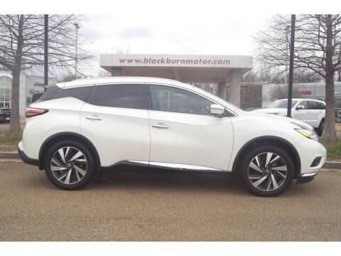 2017 Nissan Murano for sale at BLACKBURN MOTOR CO in Vicksburg MS