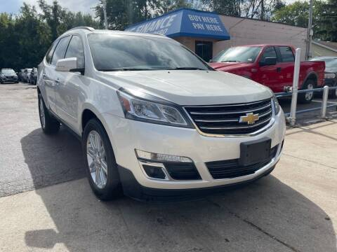 2015 Chevrolet Traverse for sale at Great Lakes Auto House in Midlothian IL