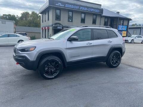 2019 Jeep Cherokee for sale at Sisson Pre-Owned in Uniontown PA