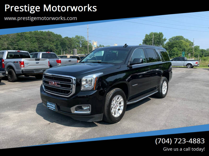 2018 GMC Yukon for sale at Prestige Motorworks in Concord NC