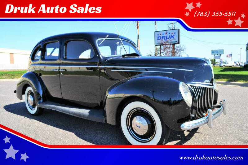 1939 Ford Deluxe for sale at Druk Auto Sales in Ramsey MN