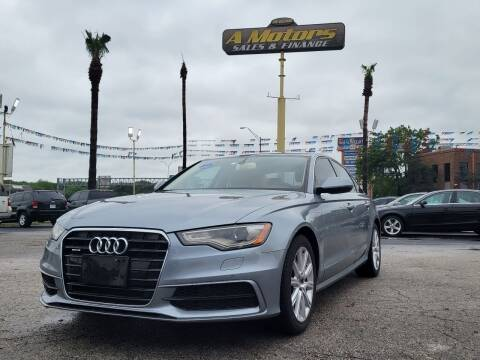 2012 Audi A6 for sale at A MOTORS SALES AND FINANCE in San Antonio TX