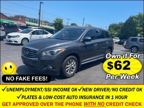 2013 Infiniti JX35 for sale at AUTOFYND in Elmont NY