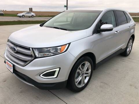 2018 Ford Edge for sale at SPANGLER AUTOMOTIVE in Glidden IA