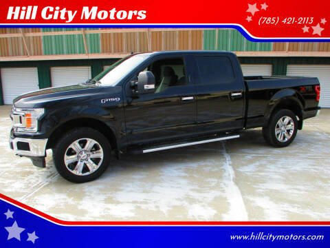 2018 Ford F-150 for sale at Hill City Motors in Hill City KS