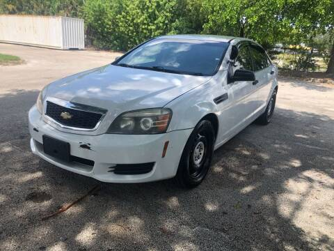 2012 Chevrolet Caprice for sale at USA BUSINESS SOLUTIONS GROUP in Davie FL