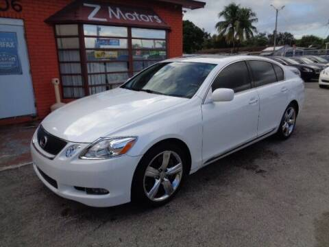 2007 Lexus GS 350 for sale at Z MOTORS INC in Hollywood FL