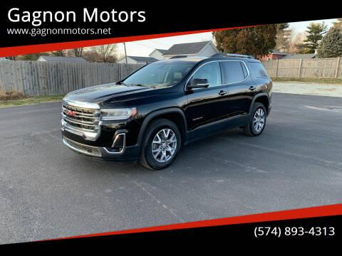 2020 GMC Acadia for sale at Gagnon  Motors - Gagnon Motors in Akron IN