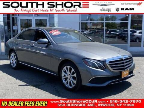 2017 Mercedes-Benz E-Class for sale at South Shore Chrysler Dodge Jeep Ram in Inwood NY