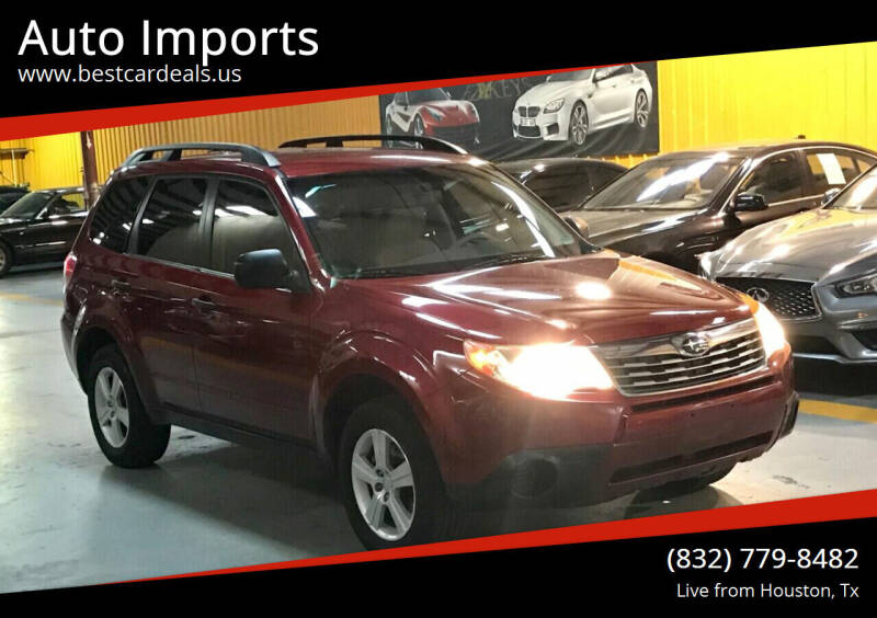 2010 Subaru Forester for sale at Auto Imports in Houston TX
