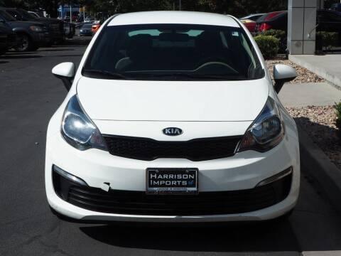 2016 Kia Rio for sale at Harrison Imports in Sandy UT
