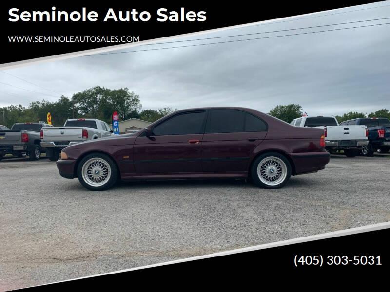 1998 BMW 5 Series for sale at Seminole Auto Sales in Seminole OK