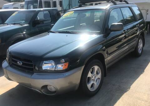 2004 Subaru Forester for sale at Autoway Auto Center in Sevierville TN