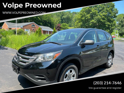 2014 Honda CR-V for sale at Volpe Preowned in North Branford CT