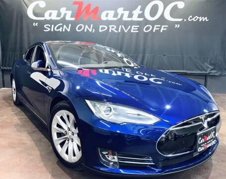 2016 Tesla Model S for sale at CarMart OC in Costa Mesa, Orange County CA