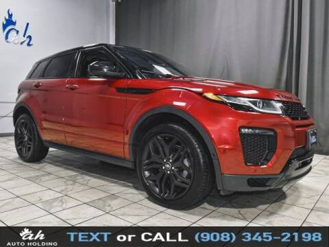 2017 Land Rover Range Rover Evoque for sale at AUTO HOLDING in Hillside NJ