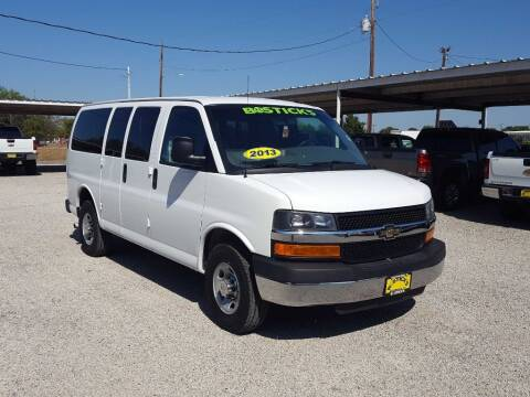 2013 Chevrolet Express Passenger for sale at Bostick's Auto & Truck Sales in Brownwood TX