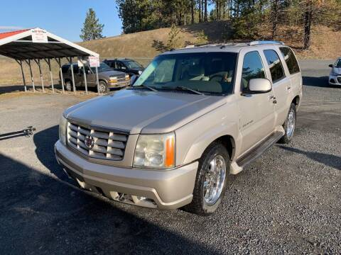 2004 Cadillac Escalade for sale at CARLSON'S USED CARS in Troy ID