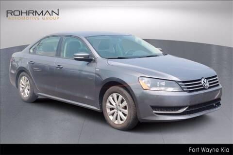 2015 Volkswagen Passat for sale at BOB ROHRMAN FORT WAYNE TOYOTA in Fort Wayne IN
