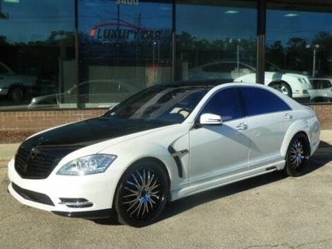 2007 Mercedes-Benz S-Class for sale at Luxury Car Outlet in West Chicago IL