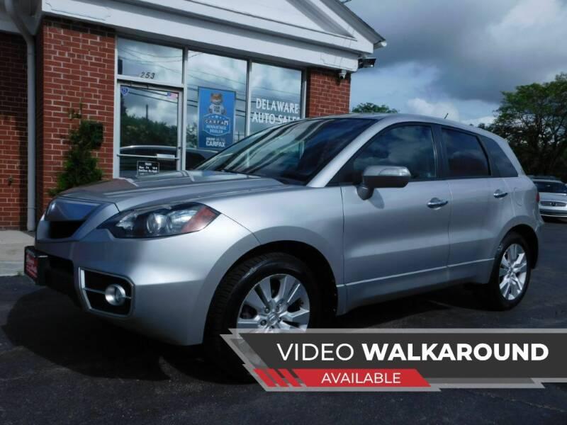 2012 Acura RDX for sale at Delaware Auto Sales in Delaware OH