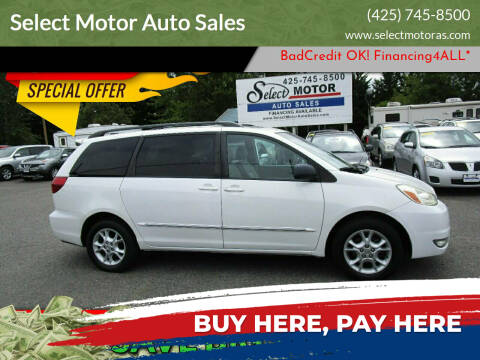 2005 Toyota Sienna for sale at Select Motor Auto Sales in Lynnwood WA