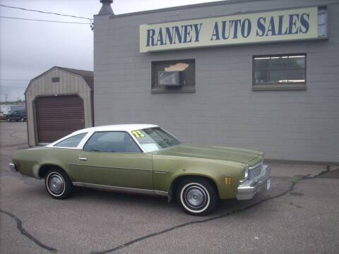 1973 Chevrolet Chevelle Malibu for sale at Ranney's Auto Sales in Eau Claire WI