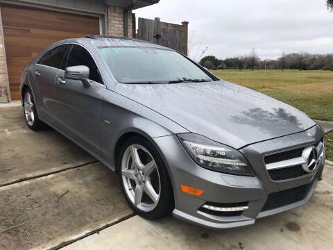 2012 Mercedes-Benz CLS for sale at Texas Luxury Auto in Houston TX