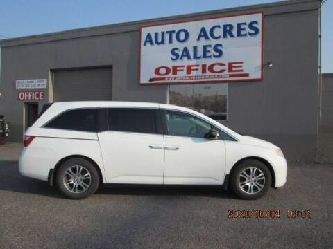 2011 Honda Odyssey for sale at Auto Acres in Billings MT