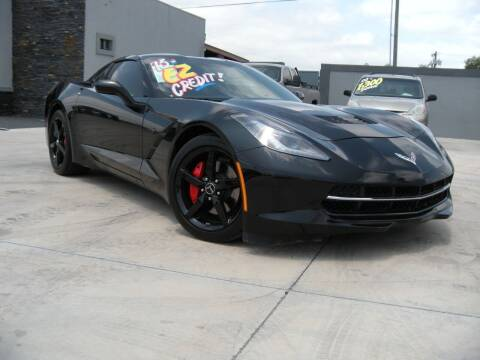 2015 Chevrolet Corvette for sale at A & V MOTORS in Hidalgo TX