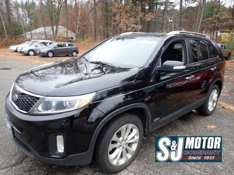 2015 Kia Sorento for sale at S & J Motor Co Inc. in Merrimack NH