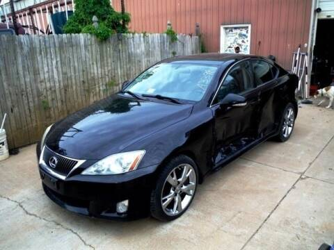2009 Lexus IS 350 for sale at East Coast Auto Source Inc. in Bedford VA