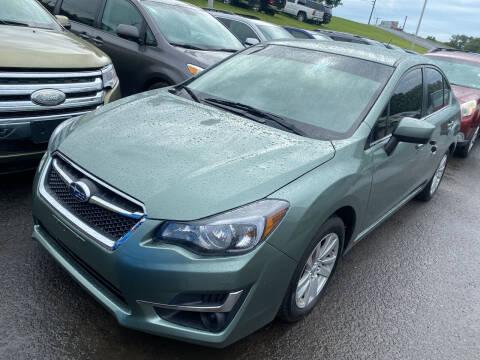 2016 Subaru Impreza for sale at Ball Pre-owned Auto in Terra Alta WV