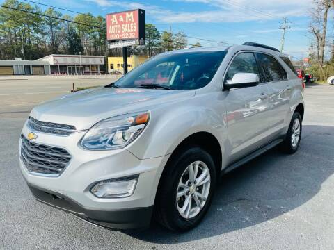 2017 Chevrolet Equinox for sale at A & M Auto Sales, Inc in Alabaster AL