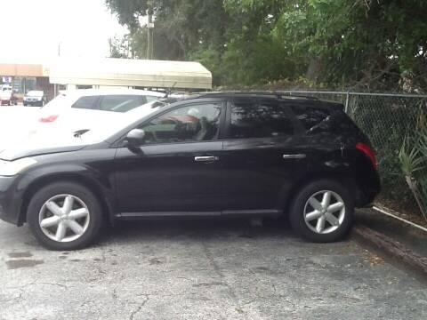 2004 Nissan Murano for sale at Easy Credit Auto Sales in Cocoa FL
