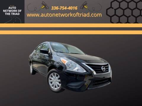2017 Nissan Versa for sale at Auto Network of the Triad in Walkertown NC