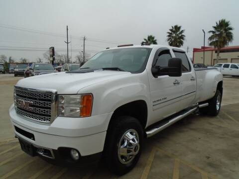 2011 GMC Sierra 3500HD for sale at Premier Foreign Domestic Cars in Houston TX