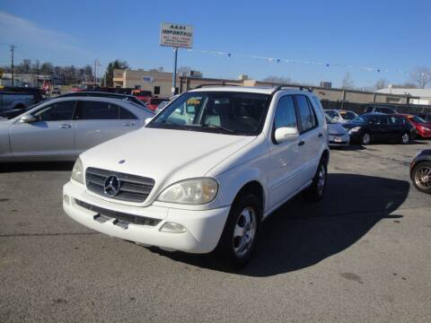 2003 Mercedes-Benz M-Class for sale at A&S 1 Imports LLC in Cincinnati OH