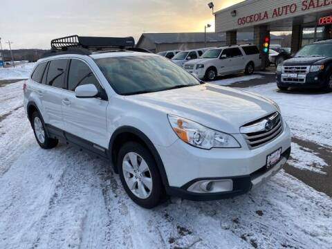 2011 Subaru Outback for sale at Osceola Auto Sales and Service in Osceola WI