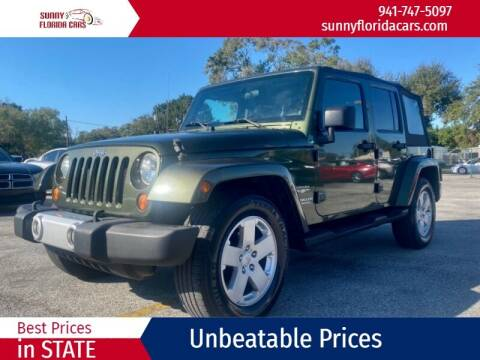 2008 Jeep Wrangler Unlimited for sale at Sunny Florida Cars in Bradenton FL