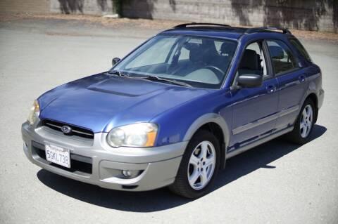 2004 Subaru Impreza for sale at Sports Plus Motor Group LLC in Sunnyvale CA