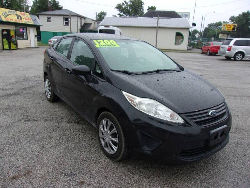2012 Ford Fiesta for sale at Car Credit Auto Sales in Terre Haute IN