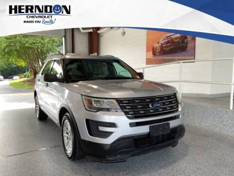 2016 Ford Explorer for sale at Herndon Chevrolet in Lexington SC